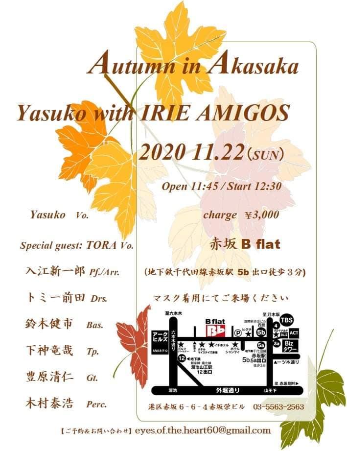 【赤坂Bフラット】Autumn in Akasaka